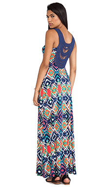Ella Moss Totem Maxi Dress in Sunset