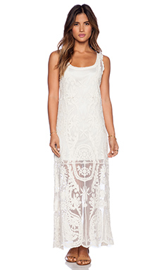 Ella Moss Cabana Maxi Dress in Cream