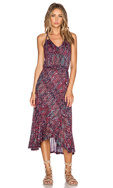 Ella Moss Catalina Maxi Dress in Indigo