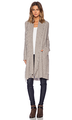 Ella Moss Yuma Long Cardigan in Oatmeal