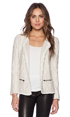 Ella Moss Mya Knit Jacket in Natural