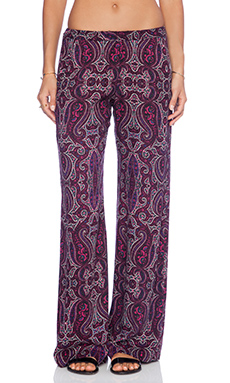 Ella Moss Baroque Pant in Rose