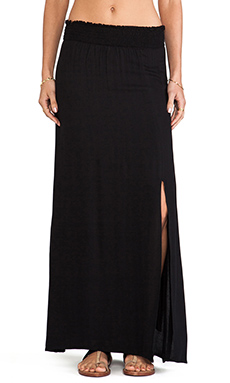 Ella Moss Sydne Maxi Skirt in Black
