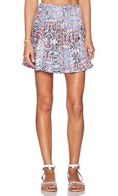 Ella Moss Yvette Skirt in Multi