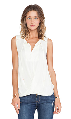 Ella Moss Stella Tank in Cream