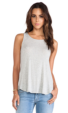 Ella Moss Icon Tank in Heather Grey