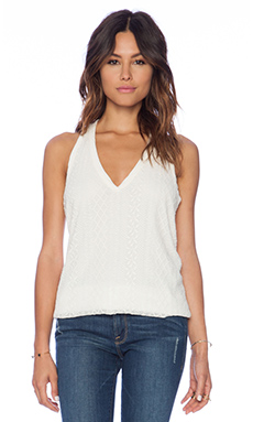 Ella Moss Emiline Tank in Natural