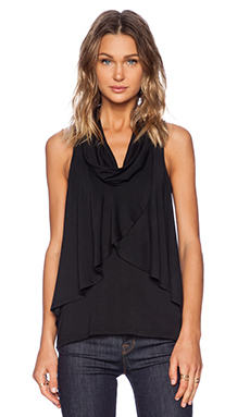 Ella Moss Zia Tank in Black