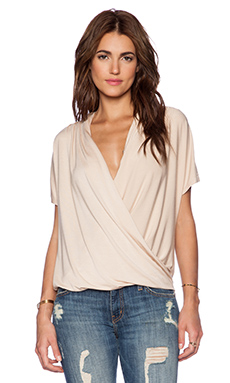 Ella Moss Bella Blouse in Sand