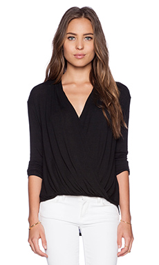 Ella Moss Joy Top in Black
