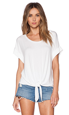 Ella Moss Bella Top in White
