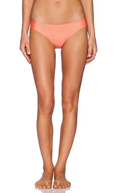 Ella Moss Primrose Bikini Bottom in Orange