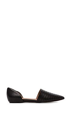 Ella Moss Serena D'Orsay Flats in Black