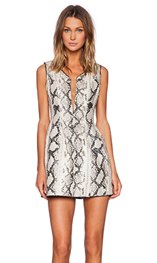 ELLIATT Digital Dress in Monochrome