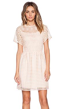 ELLIATT Frame Dress in Peach
