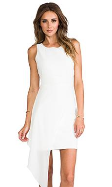 ELLIATT Sweepsteaker Dress in White