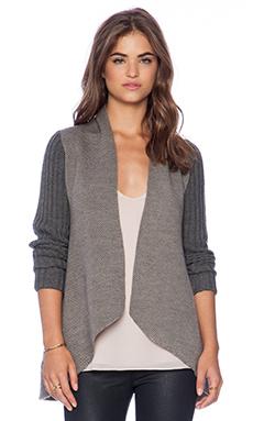 ELLIATT Nomad Knit Sleeve Coat in Splice
