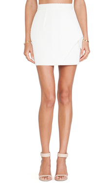 ELLIATT The Prestige Skirt in White