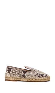 elysewalker los angeles Dee Python Espadrille in Natural