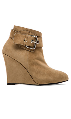 BOTTINES COMPENSÉES PLATFORM BUCKLE