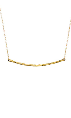 Emerald Duv Breeze Necklace in Gold