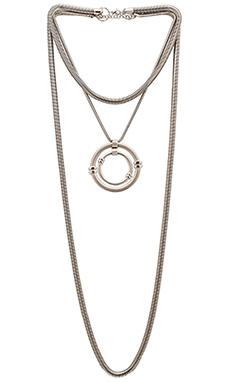 Emerald Duv Mac Daddy Necklace in Silver