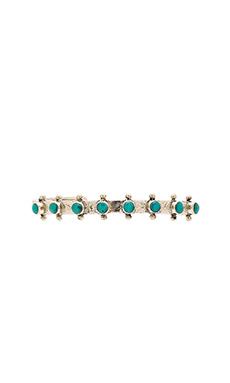 Emerald Duv Camden Bracelet in Silver & Turquoise