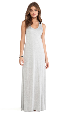 Enza Costa Tank Maxi Dress in White