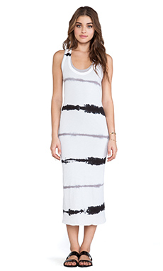Enza Costa Tissue Jersey Doubled Dress in Sehera Stripe