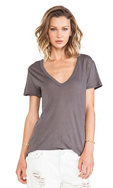 Enza Costa Tissue Jersey Loose Short Sleeve in Eiffel