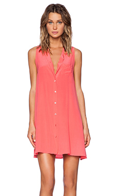 Equipment Mina Dress in Paradise Pink