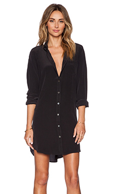 Equipment Brett Dress in True Black
