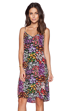 Equipment Layla Lively Floral Print Dress in Bloom Multi