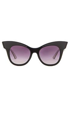 Equipment The Audrey Sunglasses in Grey Gradient & Black