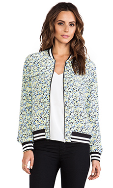 Equipment Abbot Bomber in Blue Multi