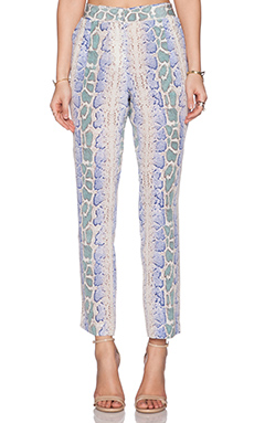 Equipment Soren Python Pant in Amparo Blue Multi