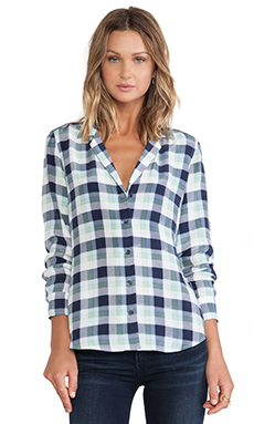 BLOUSE À CARREAUX ADALYN