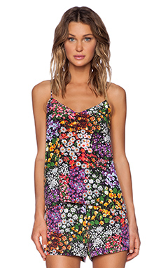 Equipment Layla Lively Floral Print Cami in Bloom Multi