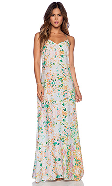 Essentiel Unexpected Flowers Maxi Dress in Floral