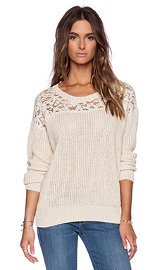 Essentiel Happy Returns Sweater in Cream