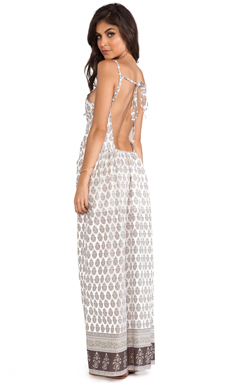 Eternal Sunshine Creations Boehem Maxi Dress in Dry Sand