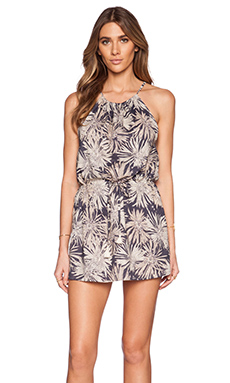 Eternal Sunshine Creations Ashbury Halter Mini Dress in Indigo