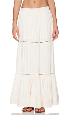 Eternal Sunshine Creations Sofia Maxi Skirt in Ivory