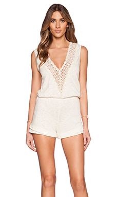 Eternal Sunshine Creations Calypso Romper in Ivory