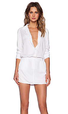 Etienne Marcel Mini Dress in White