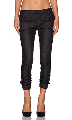 Etienne Marcel Cropped Jeans in Breeze Black