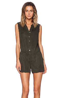 Etienne Marcel Short Romper in Military