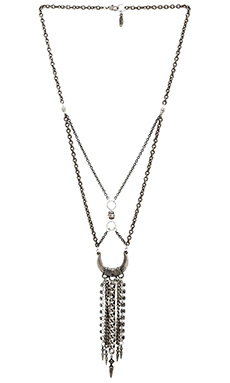 Ettika Dream Catcher Necklace in Silver