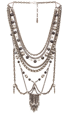 Ettika Statement Necklace in Silver