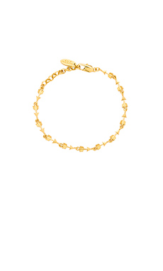 Ettika Arrow Tennis Bracelet in Gold